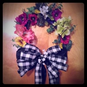 Country Floral Wreath